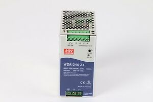 Mean Well Wdr 240 24 Ac dc Power Supply