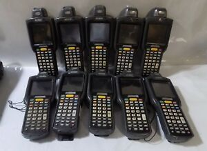 Lot Of 10 Motorola Symbol Mc3090 Laser Wireless Barcode Scanners