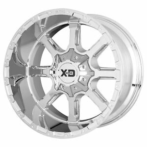 Xd Series Xd838 Mammoth 20x9 0 Chrome Wheel 8x165 1 qty 1