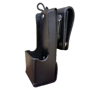 Case Guys Mr8604 3aw Hard Leather Holster For Motorola Apx 6000 8000 Radios