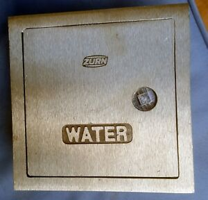 Zurn Locking Wall Hydrant Valve Box