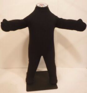 Soft Baby Infant Full Body Mannequin With Arms Legs Floor Stand Black