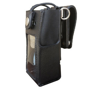Case Guys Mr8555 3bwd Hard Leather Holster For Motorola Xpr 7550 Xpr 7580e Radio