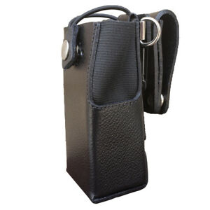 Case Guys Mr8550 3bwd Hard Leather Holster For Motorola Xpr 7350e Radios