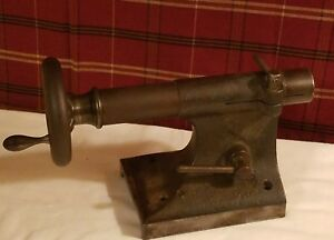 Vintage Metal Lathe Tailstock For Pratt Whitney 7 3 Tail Stock 3 watchmakers