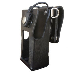 Case Guys Kw9070 3bwd Hard Leather Holster For Kenwood Nx 3220 Nx 3320 Radios