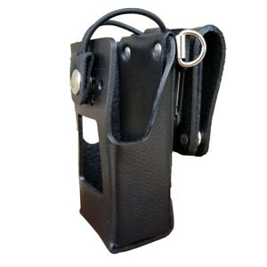 Case Guys Kw9065 3bwd Hard Leather Holster For Kenwood Nx 3220 Nx 3320 Radios