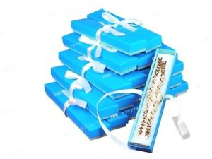 24 Aqua Box Watch Box Blue Bracelet Box Jewelry Box Gift Box Wholesale Box