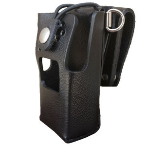 Case Guys Im8065 3bwd Hard Leather Holster For Icom Ic f2000s Radios