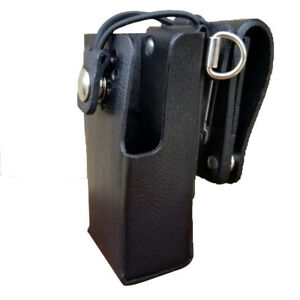 Case Guys Im8061 3bwd Hard Leather Holster For Icom Ic f1000 Radios