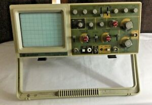 Bk Precision 2160a Analog Oscilloscope 2 Channel Dual Trace 60mhz Tested Wks