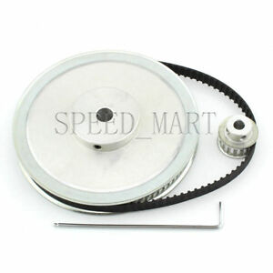Xl 80t 20t Timing Pulley Belt Set Kit Reduction Ratio 4 1 For Stepper Motor Cnc