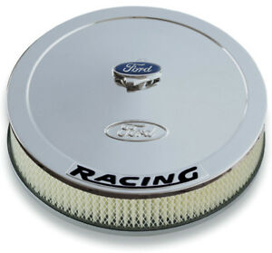 Proform 302 351 13 In Round Chrome Steel Air Cleaner Assembly