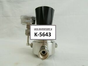 Tescom 44 3262jr91 145 Manual Pressure Regulator Valve 44 3200 Used Working