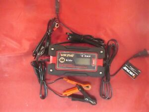 Viking 4 Amp Microprocessor 6 12 Volt Battery Charger