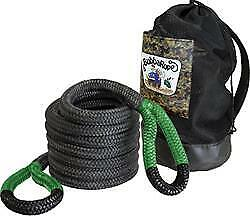 Bubba Rope 1 1 2 Wide 30 Long Jumbo Recovery Rope Rated Up To 74 000 Lbs
