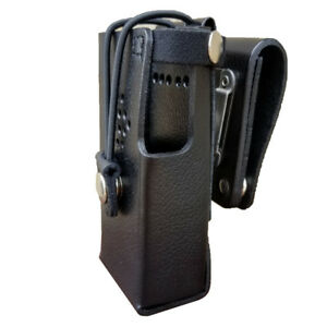Case Guys Hy3020 3bw Hard Leather Holster For Hytera Pd602 Radios