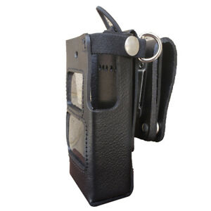 Case Guys Hy3010 3awd Hard Leather Holster For Hytera Pd662 Radios