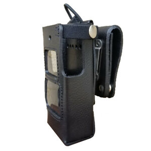 Case Guys Hy3010 3aw Hard Leather Holster For Hytera Pd662 Radios