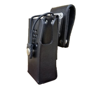 Case Guys Hy3000 3bw Hard Leather Holster For Hytera Pd405 Pd500 Radios