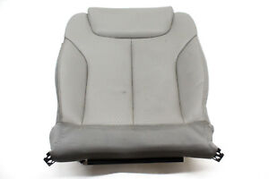 10 Vw Passat Front Right Lower Seat Cushion Grey Leather Oem 09 10