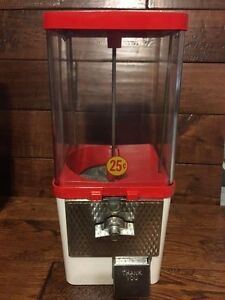 Vintage Antique Gumball Candy Bulk Vending Machine Komet Gift Or Make Money