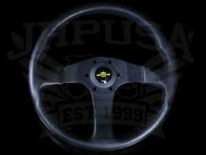Personal Grinta Blitz 330mm Steering Wheel Black W Yellow Horn 8474 32 2001