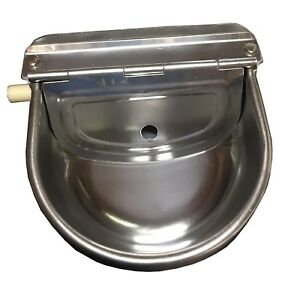 Automatic Farm Grade Stainless Stock Waterer Horse Cattle Goat Sheep Dog Wate
