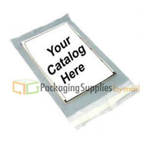5000 5 X 7 Clear View Poly Mailer Shipping Mailing Plastic Envelopes Bag 2 Mil