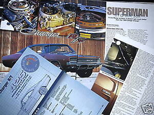 H 68 1968 Dodge Charger Rt Info
