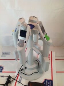 Set Of 4 Eppendorf Xplorer Pipettes With Charging Stand