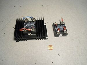 Omega Ssr330dc25 Solid State Relay Lot Of 2