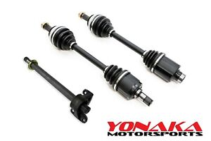 Yonaka Honda Del Sol H22a Swap Axles Halfshaft Kit Vtec Dohc H22 Abs Or Non Abs
