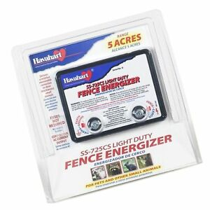 Fi shock Electric Fence Charger Energizer Controller 5 Acre Horse Deer Goat Cow