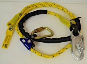 Dbi Sala 1234070 Pole Climber s Adjustable Rope Positioning Lanyard 8 Ft