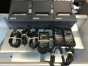 3 X Epson M129h Thermal Receipt Printer Tm t88iv W 3 Adapters 30 Days M b