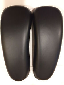 Herman Miller Aeron Chair Arm Rests arm Pads Pair Leather P n Part 165351 165352