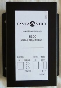 Pyramid 24 Volt Single Zone Bell Ringer 5300 129 New