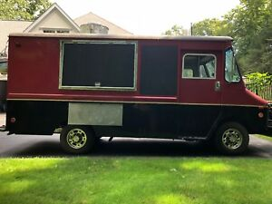 Food Truck 1991 Chevy Step Van Fully Outfitted With Commercial Equipment