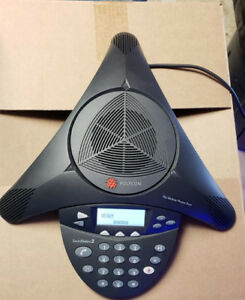 Polycom Soundstation 2 2201 16200 601 Expandable Display Conference Telephone
