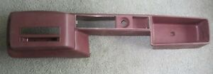 Opel Manta 1900 New Old Stock Maroon Colored Center Console