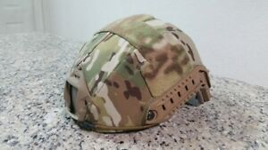 Ops-Core Fast XP Helmet Urban Tan ML W First Spear Cover Used Excellent