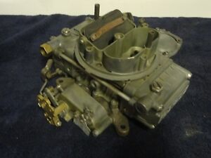 1959 Ford Truck 401 V 8 Sd Holley Carb W Gov Original 4 Bbl Barrel Carburetor