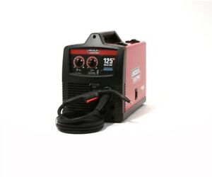 Lincoln Electric 125 Amp Weld pak 125 Hd Flux cored Welder With Magnum 100l