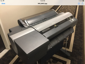 Canon Imageprograf Ipf6400s 24 Large Wide Format Poster Banner Printer