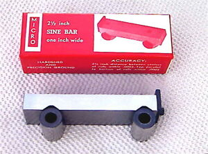 2 1 2 Inch Sine Bar Micro Brand New Made By Fisher In The Usa 25sb