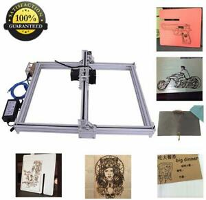 Diy Cnc Laser Engraver Wood Logo Marking Engraving Machine Diy Kit 40x50cm 500mw