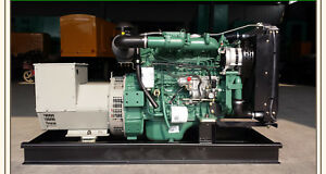 New 30kw 1 Phase 50 60hz With Epa Approved Diesel Power Generator Shipped By Sea