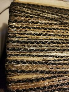 Antique Victorian French Cotton W Metal Inserted Lace 1yard 1 4 Wide