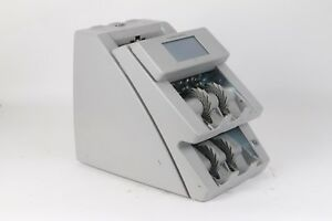Cummins Jetscan 4099 Currency Counter Dual Pocket Scanner Fair Condition